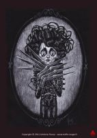Edward Scissorhands by Trefle-Rouge