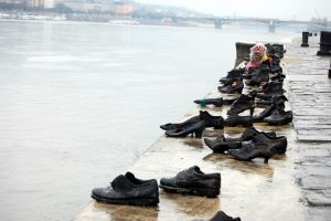 Shoes on the Danube by LordXar