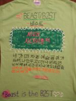 B2ST Shirt  -front- by KoreanBoyBandFan215