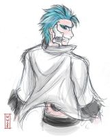 Grimmjow by IsolatedHowl