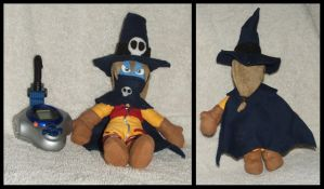 Wizardmon plush by Spring-the-Rabbit