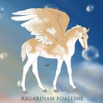 B013 PS Blattsprenkel -Asgardian Foal Design- by saphiraly