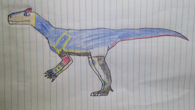 Roy the Young Allosaurus by Willy276