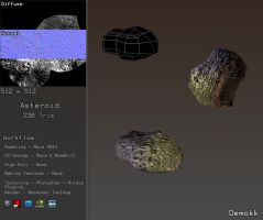 Asteroid Game Model by Demokk