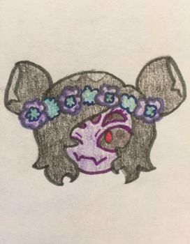 Doodle of Muffet by SilveryVictory