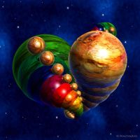 Planets Heart by Fractal-Kiss