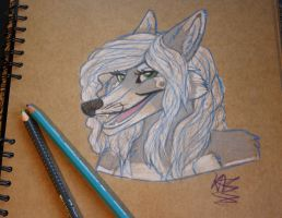 Brown paper Klouku by TheArtyMadCow