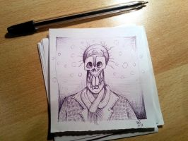 snow skull quickly drawing by nikolass by nikolass83gianni