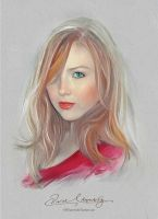 Pretty Face - Molly Quinn by Amro0