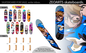 Zeoarts Skateboards by zeoarts