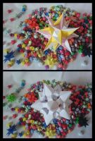Origami Stars Composition 1 by lonely--soldier