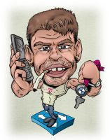 Caricature again by Tomster84