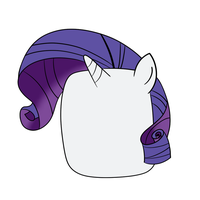 Rarity the Marshmallow by greseres