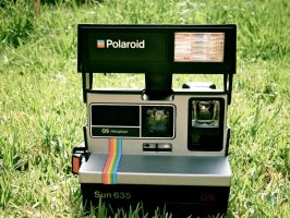 Polaroid 635 Sun QS Camera by Diskool97