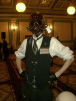Insectoid steampunk gas mask by Skinz-N-Hydez