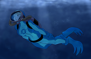 Samus goes to Antarctica by ZeFrenchM