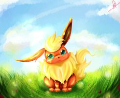 Little Flareon by Nellair