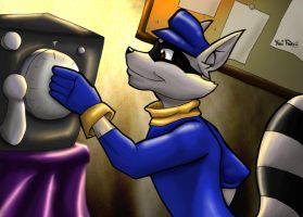 Sly Cooper the Master Thief by GhettoRainbowCat