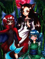 Double Dealing Character: A Troublesome Trio by AyatoNyaa