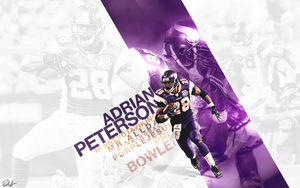 Adrian Peterson by DesignsByGuru