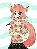 Vintage Fox girl by xLhoodies
