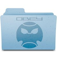 KG obey folder by alalander1234