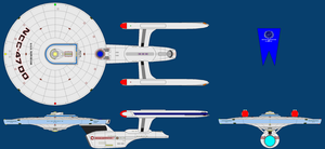 USS Surveyor Refit by tybarious