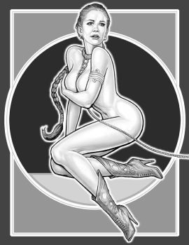 SLAVE LEIA 5 by GOODGIRLART