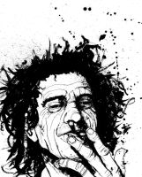 Keith Richards by TylerChampion