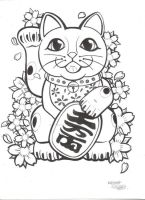 Lucky Cat 2013 by RavensSoulDesigns