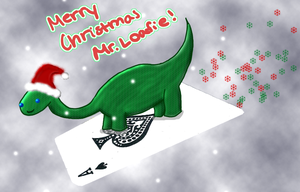For Loafie, Christmas '08 by MartianMeerkat