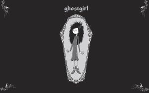 Ghostgirl Wallpaper by coupdegracester