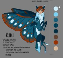 RIKI: Ref Sheet/ Species Example by KennadeeK
