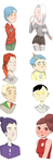 Software and Search engine personifications by canttel