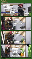 Code Geass - Where's Kallen by FoxxFireArt