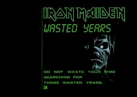 Wasted Years Wallpaper by NachoMon