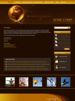 Corporate Website Design by rjoshicool