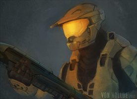 Master Chief by VonHollde