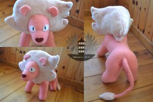 Lion - Steven Universe plush COMMISSION by 0Kurichan0