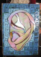 Iridized Ear by SequentialGlass