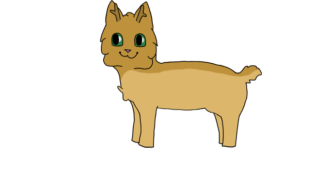 Crunchy The Cat by MudTheCat