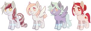 -CLOSED- $1 PONY ADOPTS by yuri4boris