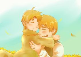 APH: In Your Arms by Myoboku-keeper