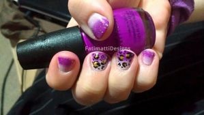 Leopard Gradient by FatimattiDesigns