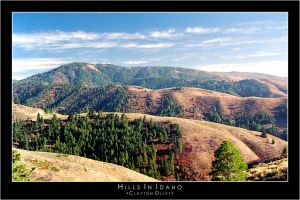 Hills In Idaho by acrophile