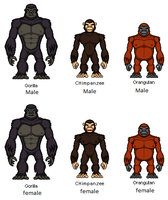 Planet Of The Apes 2490 by digikevin10