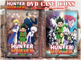 HUNTER x HUNTER 2011 DVD Case Icons by Michze90s