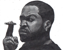 ice cube drawing by SCRUBZLOTUS