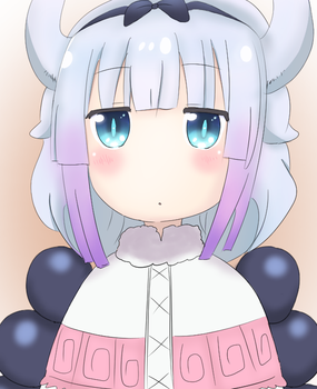 Miss Kobayashi's Dragon Maid - Kanna by TenzinSonam995