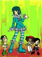 JET SET RADIO FOR PACKY by candybeyatch